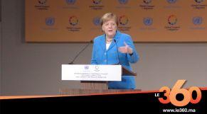 غلاف فيديو - Angela Merkel : «Cela vaut la peine de se battre en faveur du Pacte de Marrakech»