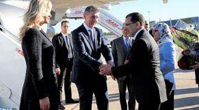العثماني يستقبل الوزير الأول التشيكي