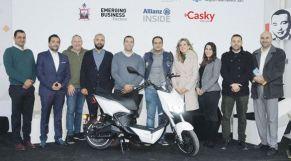 مشروع الدراجات الكهربائية بمراكش