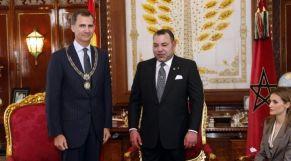 الملك محمد السادس وملك إسبانيا فيليبي السادس