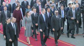 Cover_Vidéo: Arrivée au Maroc de Sa Majesté le Roi Felipe VI d'Espagne et de la Reine Dona Letizia