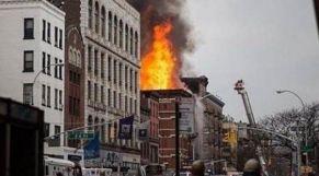 حريق بباريس