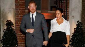 الأمير البريطاني هاري وزوجته ميغان