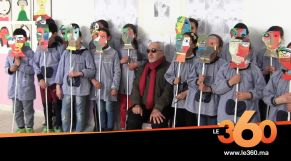 Cover_Vidéo: Le360.ma • التشكيلي المغربي بن السفاج يلتقي تلاميذ مدرسة قروية ضواحي طنجة