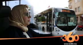"Cover_Vidéo: Le360.ma •نساء بمهن رجالية.. أول سائقة ""طوبيس"" بمدينة فاس"