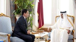 بوريطة وأمير قطر