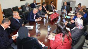 اجتماع الوزير مع الكنوبس والمصحات الخاصة