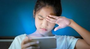 خطر هواتف هاتف أطفال طفلة