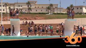 Le360.ma • روبورتاج : تعرفوا كيف ساكنة يعقوب المنصور افتتحت بنفسها أكبر مسبح بإفريقيا