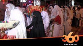 Cover_Vidéo: Le360.ma •تفراوت تتوج 13 عريسا بحفل زواج جماعي ومنح مالية