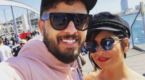 حاتم عمور وزوجته
