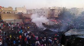 حريق بأحد الأسواق الشعبية لفاس