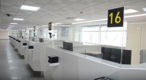 المنطقة الجديدة بمطار محمد الخامس