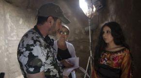 الممثلة يسرى طارق وزوجها المخرج محمد اليونسي