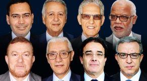 الوزراء المغادرون لحكومة العثماني