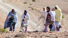 مغربيات يعشن في القرى