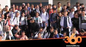 Cover_Vidéo:  Le360.ma •أمزازي يزور الثانوية التأهيلية الرياضية الأولى من نوعها وطنيا بطنجة