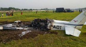 تحطم طائرة كونغولية