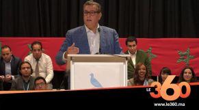غلاف فيديو - Vidéo. Aziz Akhannouch répond fermement a Saad Eddine El Othmani