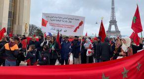 مظاهرة باريس