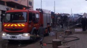 حريق سوق دالاس