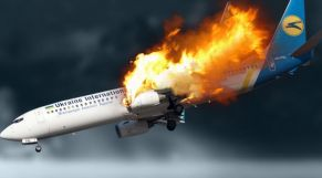 إسقاط طائرة أوكرانية بإيران