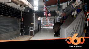 cover vidéo :Le360.ma •محلات درب عمر تغلق أبوابها من جديد