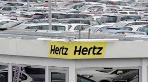 """شركة """"هيرتز"""" لكراء السيارات تعلن إفلاسها في الولايات المتحدة وكندا"""