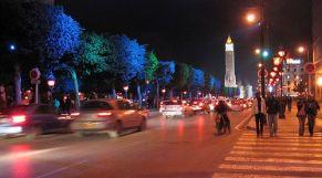 الشوارع تونس