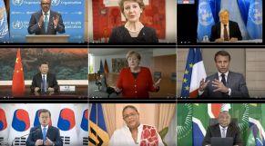 منظمة الصحة وزعماء عالم