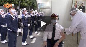 Cover Vidéo - عناصر البحرية الملكية يتلقون الجرعة الثانية من لقاح كورونا