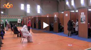 Cover Vidéo - Marrakech: deux centres de vaccination supplémentaires pour fluidifier le flux de patients