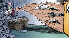 كاريكاتير العثماني