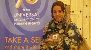 ئيسة مرصد الصحراء للسلم والديمقراطية وحقوق الإنسان، عائشة ادويهي