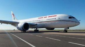 """طائرة """"دريملاينر"""" تابعة لشركة الخطوط الملكية المغربية (لارام)"""