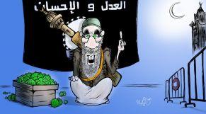 كاريكاتير: جماعة العدل والإحسان تتحدى كورونا في أولى ليالي رمضان