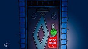 كاريكاتير: حظر التجول يُخيّم على ليالي رمضان
