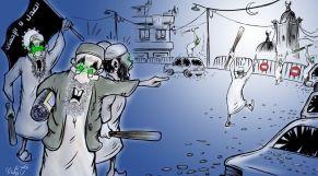 كاريكاتير العدل والإحسان
