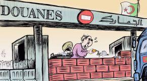 كاريكاتير: تبون يغلق بلاده في وجه الشركات المغربية