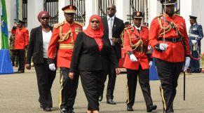 رئيسة تانزانيا