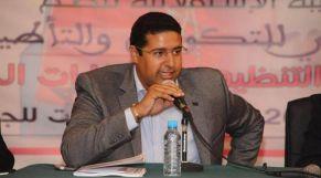 عثمان الطرمونية، الكاتب العام لمنظمة الشبيبة الاستقلالية