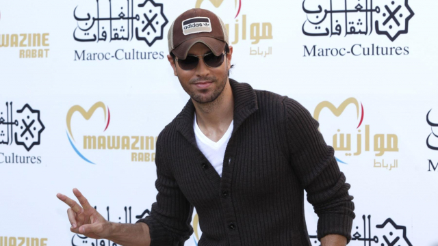Mawazine 2013 - Enrique Iglesias photo call 3