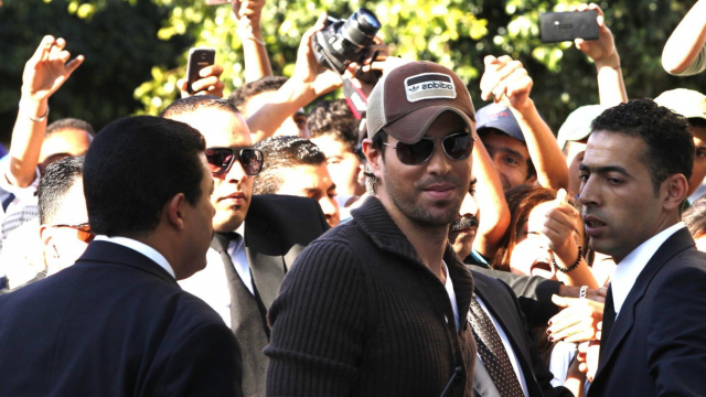 Mawazine 2013 - Enrique Iglesias photo call 2