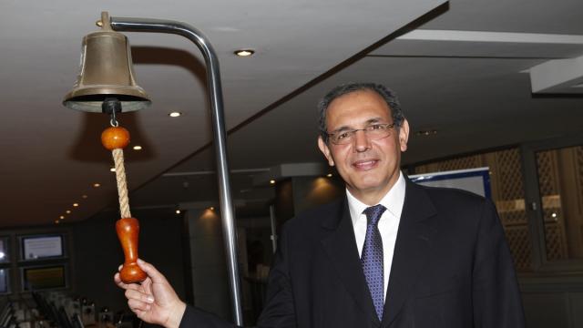 Bourse de Casablanca Karim Hajji DG.Bourse cloche