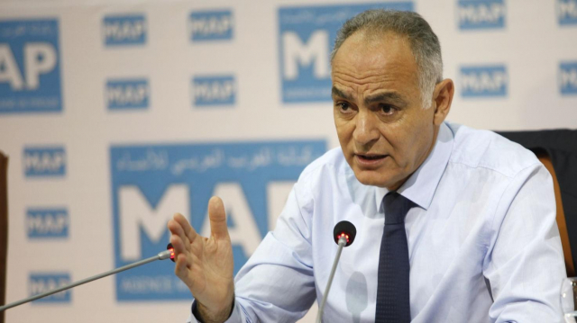 Salaheddine Mezouar invité du Forum de la MAP  Rabat 21 Mai 2013