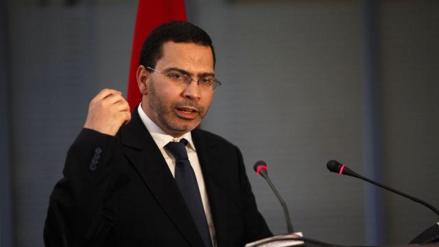 Mustapha El Khalfi, ministre de la Communication et porte-parole du gouvernement.