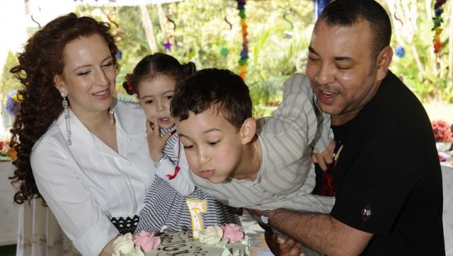 Anniversaire Mly Hassan (7 ans) famille royale