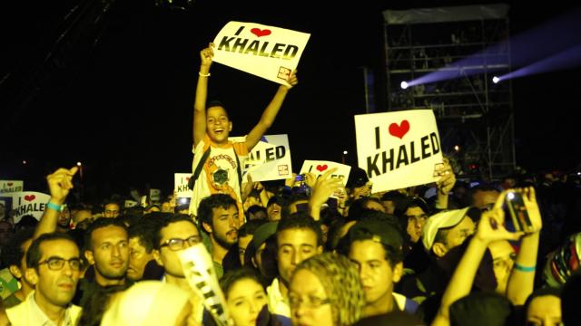 Festival Timitar 2013 - Khaled public