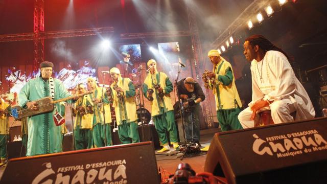 Festival Gnaoua 2013 - maâlem mustapha baqbou 4