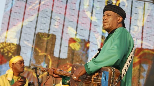 Festival Gnaoua 2013 - maâlem mustapha baqbou 1